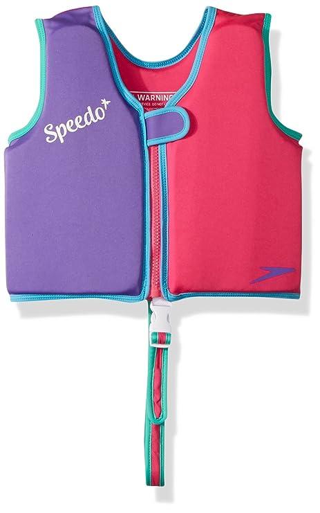 346b4728c1715 Amazon.com : Speedo Kids' UPF 50+ Begin to Swim Classic Swim Vest ...