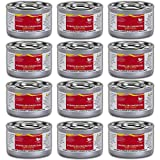 Chafing Dish Fuel Cans – Includes 12 Ethanol Gel Chafing Fuels, Burns for 2 Hours (6.43 OZ) for your Cooking, Food Warming, Buffet and Parties.