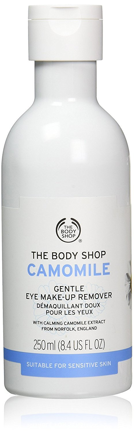 The Body Shop Camomile Gentle Eye Makeup Remover Regular, 8.4-Fluid Ounce