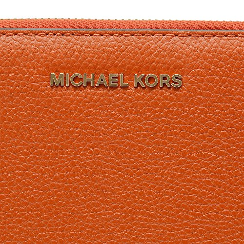 MICHAEL Michael Kors KORS STUDIO Mercer Travel Continental Wallet Orange by MICHAEL Michael Kors (Image #4)