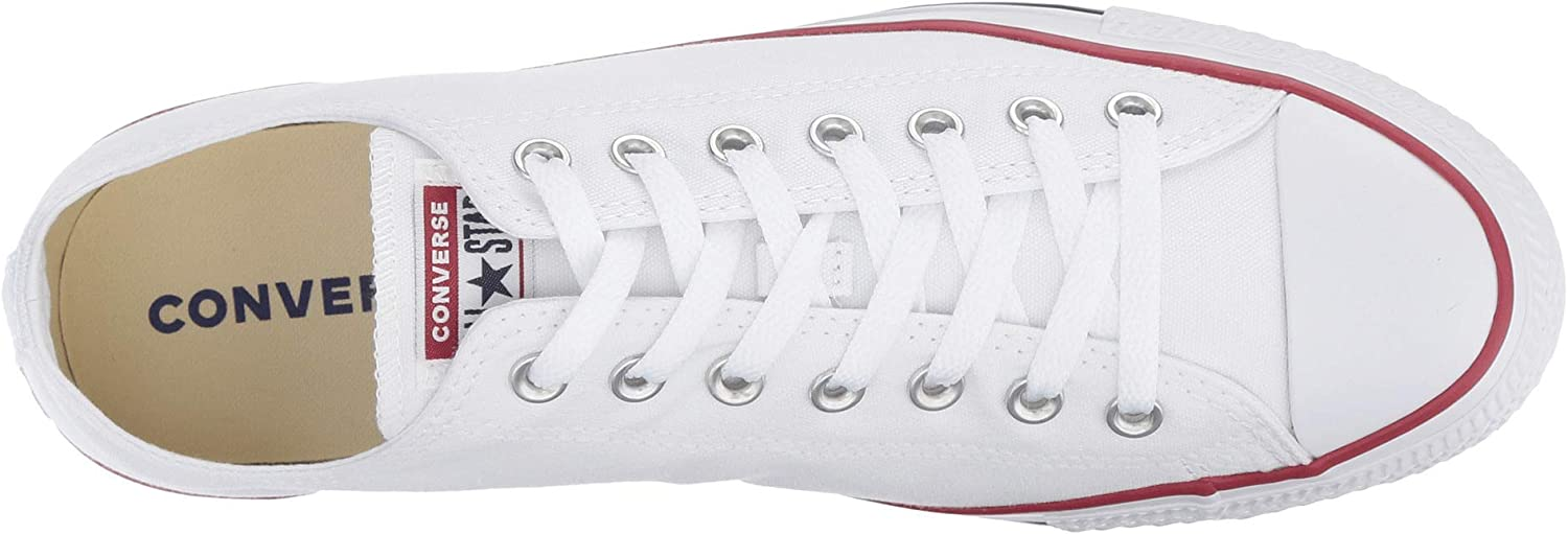 Converse - 15490 - Chuck Taylor All Star Mono Ox - Baskets Basses - Mixte Adulte Toile Blanche Optique