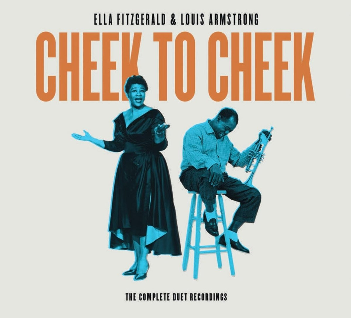 Ella Fitzgerald Louis Armstrong - Cheek To Cheek