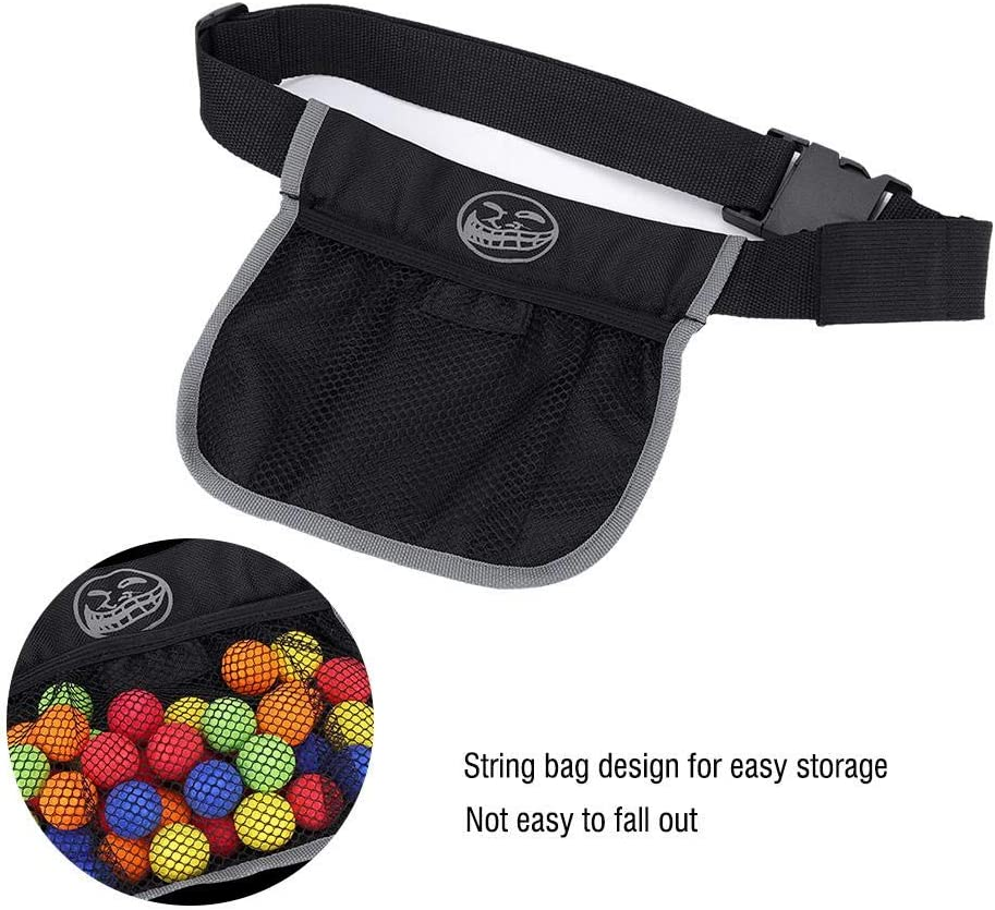 Bag Only Together-life Bullet Ball Storage Bag Tactical Ball Waist Bag Oxford Canvas Spherical Bullets Pocket Darts Pouch for Nerf Rival Zeus Apollo Refill
