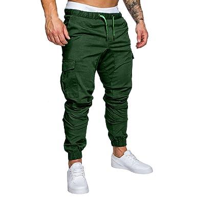 ZEZKT Herren Camouflage Trainingshose Sweatpants Jogger Sporthose Jogginghose Sport Fitness Hosen Jogger Pants Freizeithose Lang Slim Fit Jogginghose