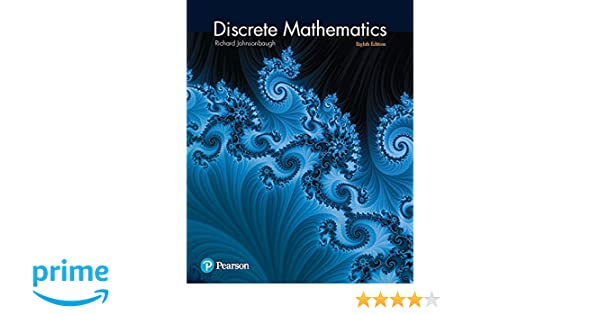 Discrete mathematics 8th edition richard johnsonbaugh discrete mathematics 8th edition richard johnsonbaugh 9780321964687 amazon books fandeluxe Images