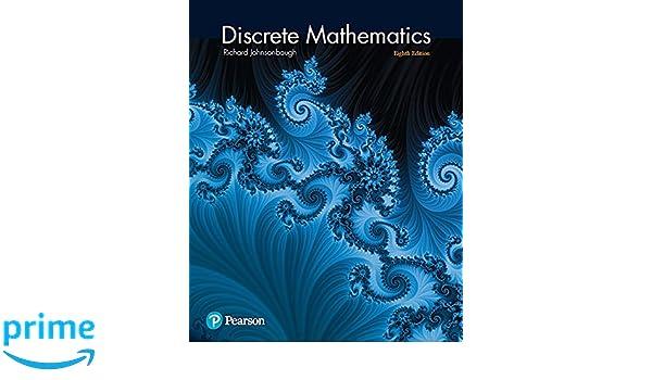 Discrete mathematics 8th edition richard johnsonbaugh discrete mathematics 8th edition richard johnsonbaugh 9780321964687 amazon books fandeluxe Choice Image