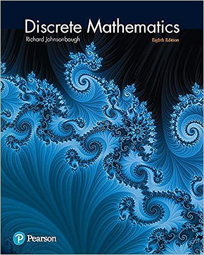 discrete mathematics 8th edition richard johnsonbaugh