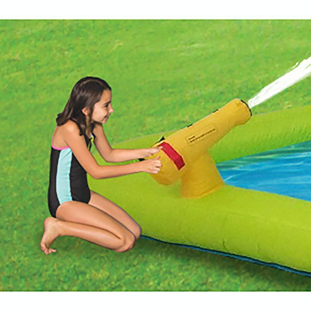 Kahuna Mega Blast Inflatable Backyard Kiddie Pool and Slide Water Park by Kahuna (Image #9)