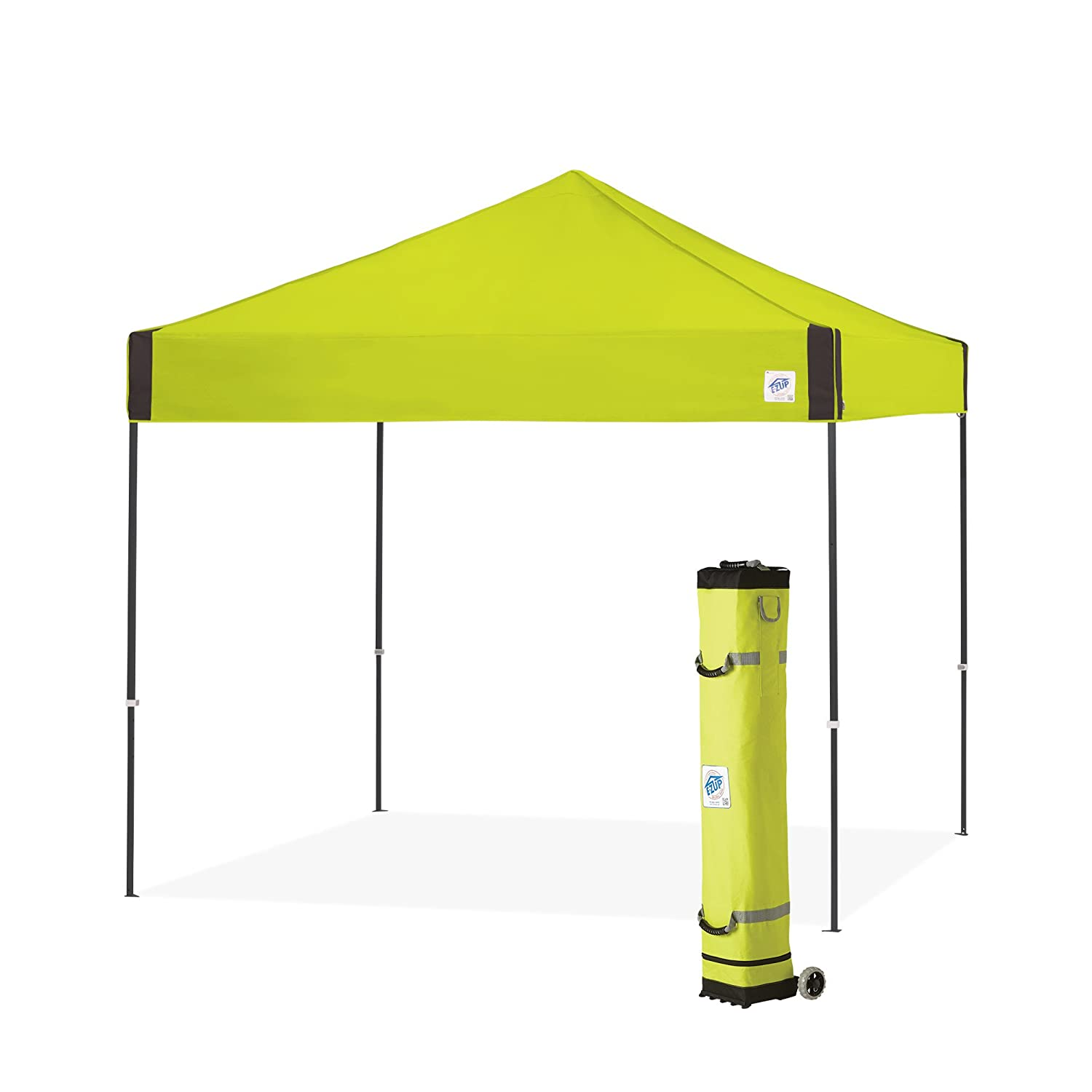 Amazon.com  E-Z UP Pyramid Instant Shelter Canopy 10 by 10u0027 Limeade  Garden u0026 Outdoor  sc 1 st  Amazon.com & Amazon.com : E-Z UP Pyramid Instant Shelter Canopy 10 by 10 ...