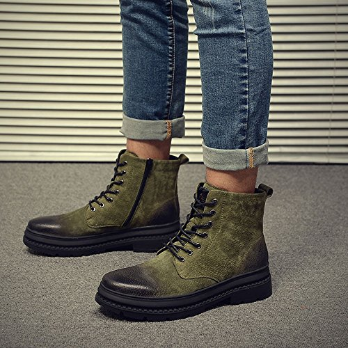 Le High Keep 02 EU40 sportive Warm uomo Colors da FEIFEI Scarpe 03 CN41 Winter Boots dimensioni UK7 3 calzature Colore Help Martin rqFzwgr