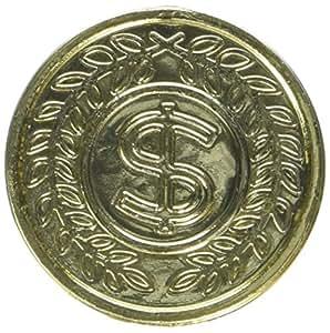 Amscan International - Monedas de oro del tesoro pirata (8 unidades)