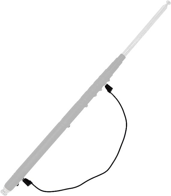 GRA-1899T - Antena telescópica portátil para YAESU FT-817 FT-817ND FT-818 FT-857D o KX3, BNC (80 m-6 m, 3,5 MHz, 10 MHz, 18 MHz, 21 MHz, 28 MHz, 50 ...