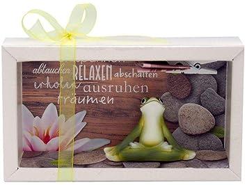 Zauberdeko Geldgeschenk Verpackung Wellness Entspannung Massage Yoga