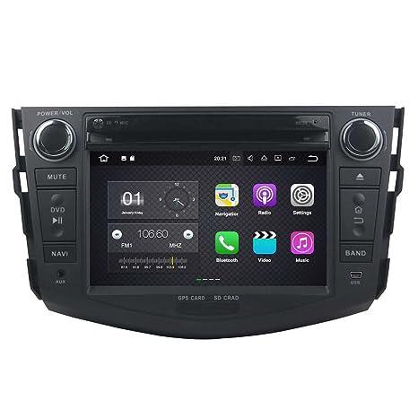 2 DIN 7 Pulgadas Coche Estéreo con GPS Navegación Android 7.1 OS para Toyota RAV4 2006