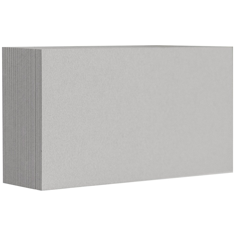 Fits in 3Drug Envelopes 100//Pack JAM PAPER Blank Flat Note Cards - White 2 x 3 1//2