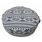 Aozora Zafu Meditation Cushion Yoga Inflatable Cotton Bolster Pillow Cushion Lightweight Non-Slip Premium Designs