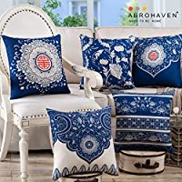 AEROHAVEN™ Set of 5 Cotton Pillow/Cushion Covers - CC-116