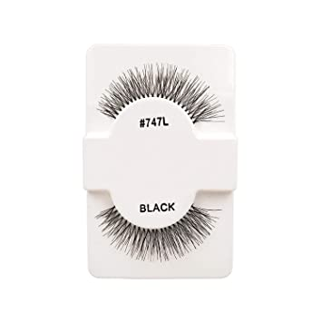 b55e91769245 Amazon.com : 1 Pairs 100% Handmade Natural False Eyelashes 5 Styles Beauty  False Eyelashes New Fashion Women Fake Eye Lashes, 747 l : Beauty