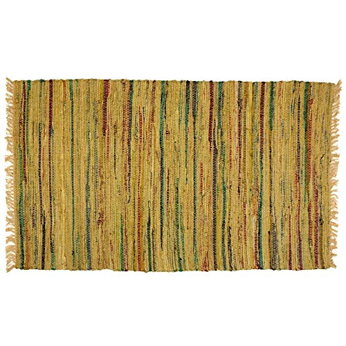 Sturbridge Mustard - Sturbridge Country Rag Rug in Mustard 24