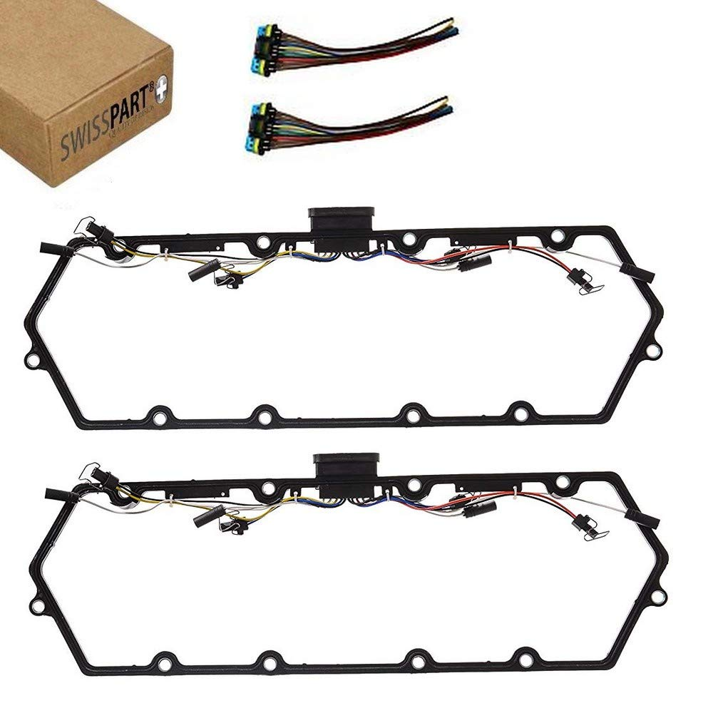 Valve Cover Gasket With Fuel Injector Glow Plug Harness For Ford 1997 7 3 Liter Powerstroke Diesel Engine Connector Wiring 2003 F250 F350 73l Trucks