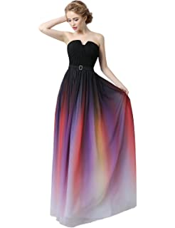 Clearbridal Womens Formal Chiffon Prom Dress Bandage Maxi Dress Bridesmaid Gown CSD231