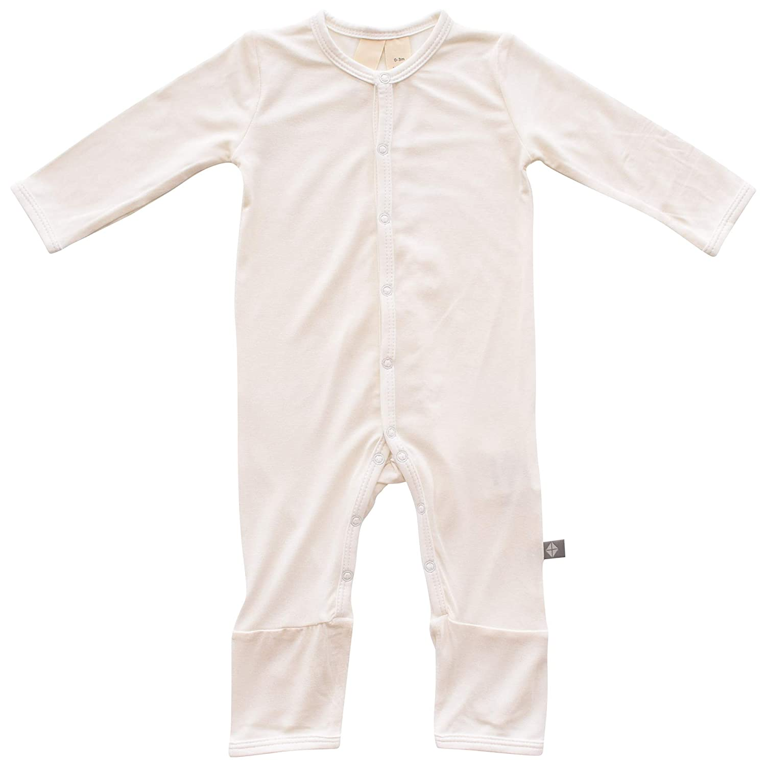 6-12 Months, Cloud 0-24 Months Baby Footless Coveralls Made of Soft Organic Bamboo Rayon Material KYTE BABY Rompers