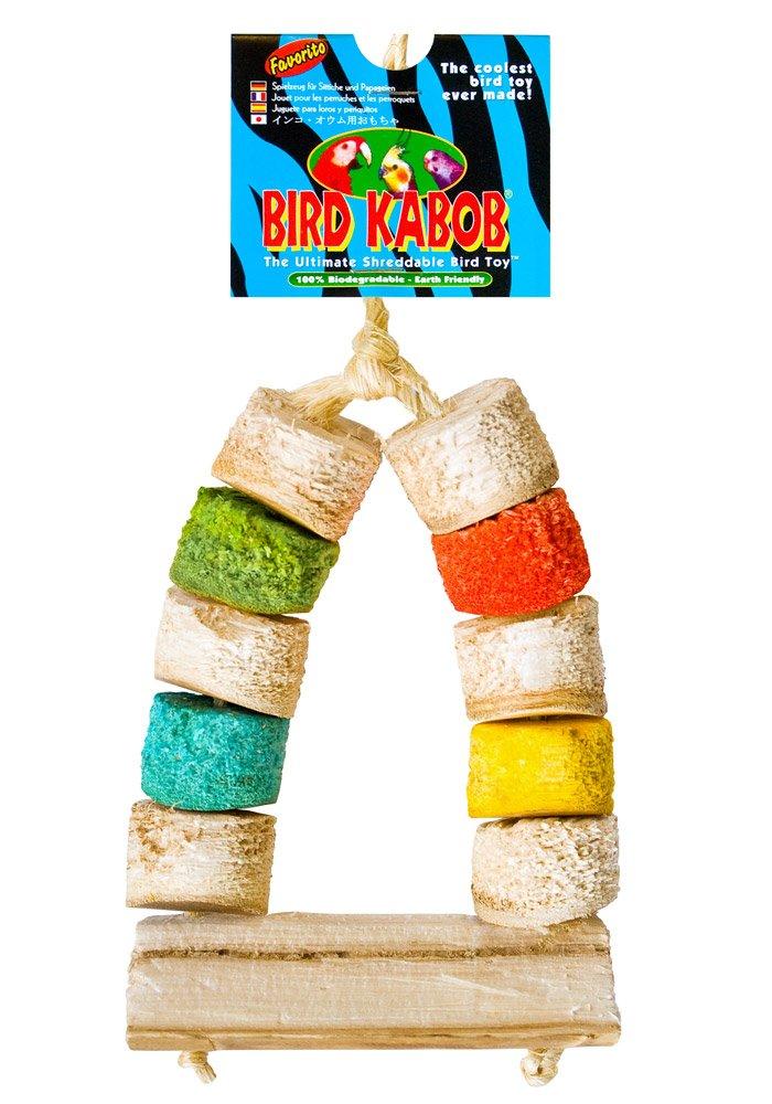 BIRD KABOB 4-1/2-Inch Favorito Chewable Perch by BIRD KABOB