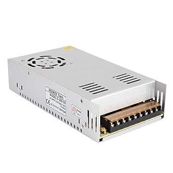 Redrex 24V 15A DC Universal Regulated Fuente de alimentación de ...