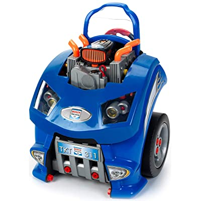 Theo Klein - Bosch Car Service Station Premium Toys for Kids Ages 3 Years & Up: Toys & Games