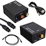 Stayoung Digital Optic coaxial RCA analógico convertidor de Audio Musou DAC de Audio Convertidor Digital Analógico Óptica o C