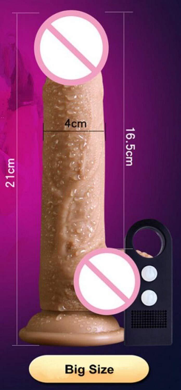 Novelty Toy Silicone Dildo Realistic VìbrĀtör Voice Remote Control Dildo Suction Cup Realistic Penis VìbrĀtör SÉx Toys for Woman