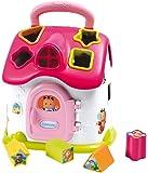 Smoby 110402 Cotoons - Casa electrónica rosa con figuras encajables