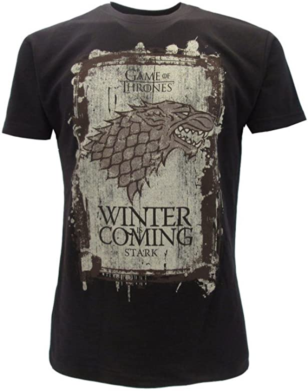 Winter Coming Trono Tv Is Stark Serie Di T Shirt Maglietta Spade I76ybgfYv