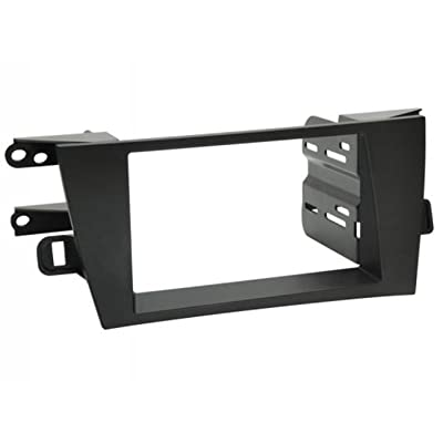 SCOSCHE TA2105B 2010-15 Toyota Prius Double DIN or DIN w/Pocket Install Dash Kit: Car Electronics