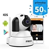 Amazon Price History for:FREDI Wireless Camera Baby Monitor 720P HD Wireless Security Camera With Two-Way Talking,Infrared Night Vision,Pan Tilt,P2P Wps Ir-Cut Nanny ip Camera Motion Detection