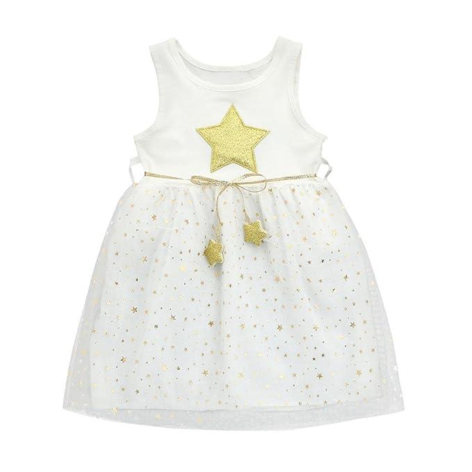 Amazon.com: jarsh bebé niña estrella brillante impresión sin ...