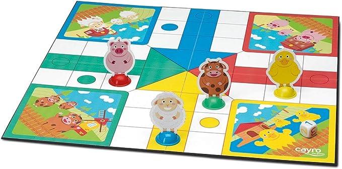 Cayro -Mi Primer parchis- Juego de Mesa Infantil - parchís Infantil - Juego de cooperación Desarrollo de Habilidades visuales y lógico-matemáticas - Juego de Mesa (163): Amazon.es: Juguetes y juegos