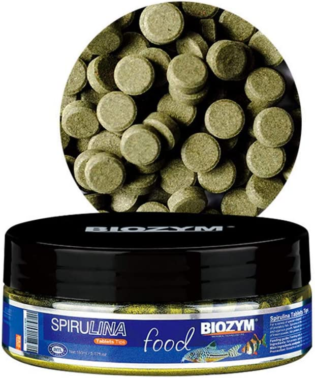 Rubsy Aquarium Benthic Ornamental Fishes Tablet Food Spirulina Tropical Guppies Feed