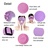 LifeWheel Plush Hot/Cold Therapy Facial Mask and