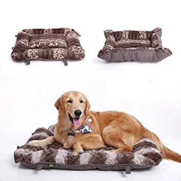 TYIOWALI Cat Cama Nido Dormir Manta Lavable Perro Cama Teddy Pelo Dorado Dog House Winter Calidez,M - 41Cm 33 * 01: Amazon.es: Productos para mascotas