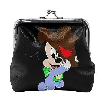 Xzcxyadd Monedero para mujer con diseño de Mickey Mouse, 3 ...