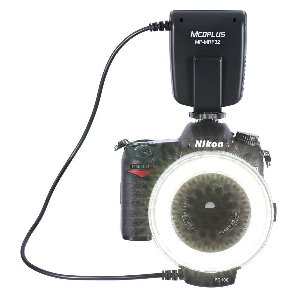 Mcoplus MP-MRF32 Universal Mount Macro Ring Flash Light Speedlite for Canon Nikon Pentax Olympus DSLR Camera by Mcoplus