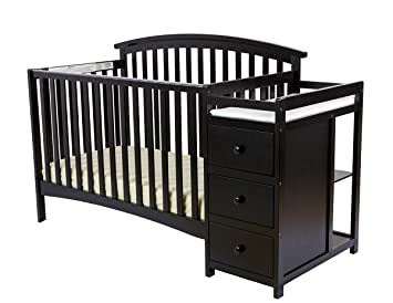 Amazon Com Dream On Me Niko 5 In 1 Convertible Crib With Changer