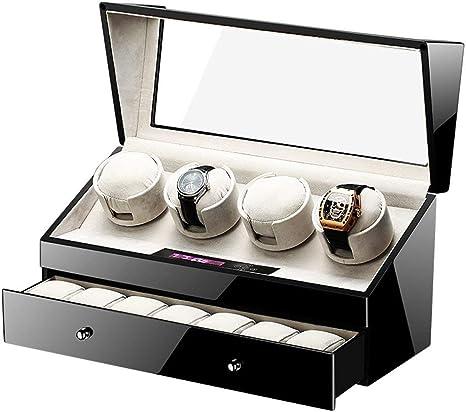 L.HPT Caja Relojes Automaticos 4,Bateria Winder Pilas Automatic ...