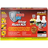 POR-15 40909 Stop Rust Kit, Permanent Corrosion Preventive System, Gloss Black
