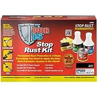 $20 » POR-15 40909 Gloss Black Stop Rust Kit - Permanent Corrosion Preventive System