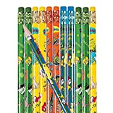 Fun Express - Dr. Seuss Green Eggs & Ham Pencils - Stationery - Pencils - Pencils - Printed Assortments - 144 Pieces