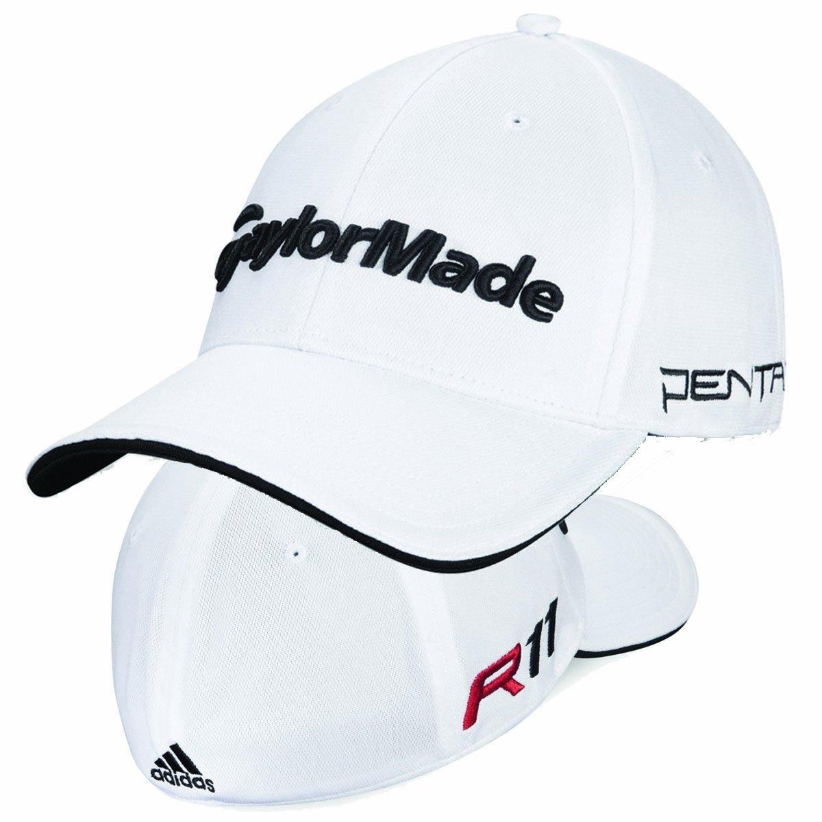 Adidas Taylormade Golf R11 Tour Penta Baseball Cap White  Amazon.co.uk   Clothing 64a1397b8fa