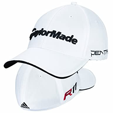 6122a6695ca45 Adidas Taylormade Golf R11 Tour Penta Baseball Cap White  Amazon.co.uk   Clothing
