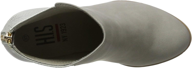 H.I.S Damen 45031 Kurzschaft Stiefel Grau Gris